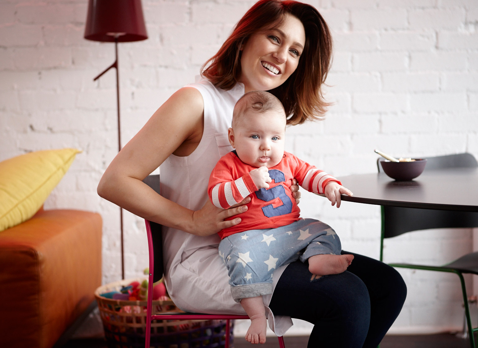 b72eb5d9e A gifted writer, it's no surprise Foster Blake is full of wise words on  motherhood: ""