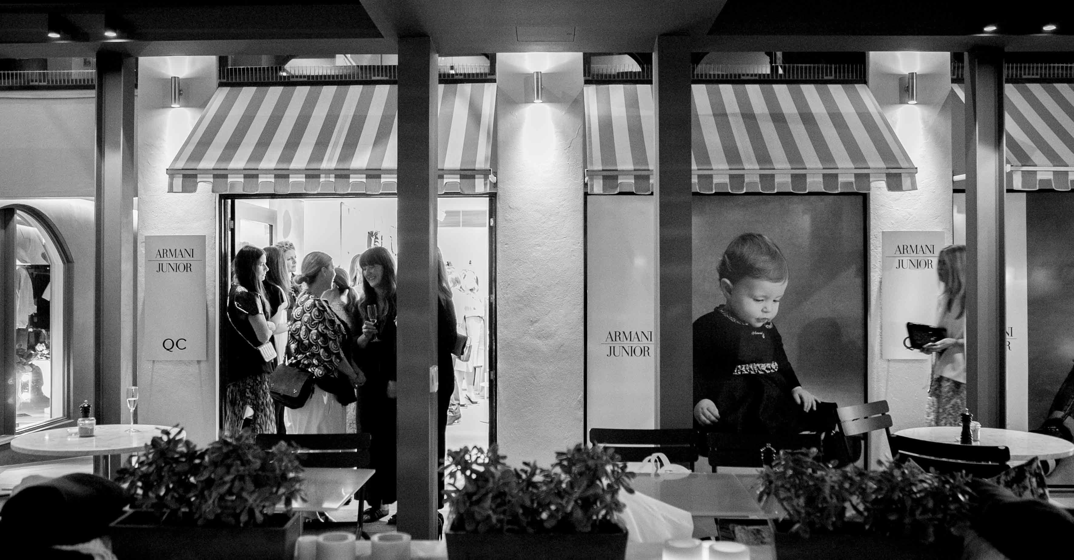 Armani Junior Celebrates A New Sydney Store