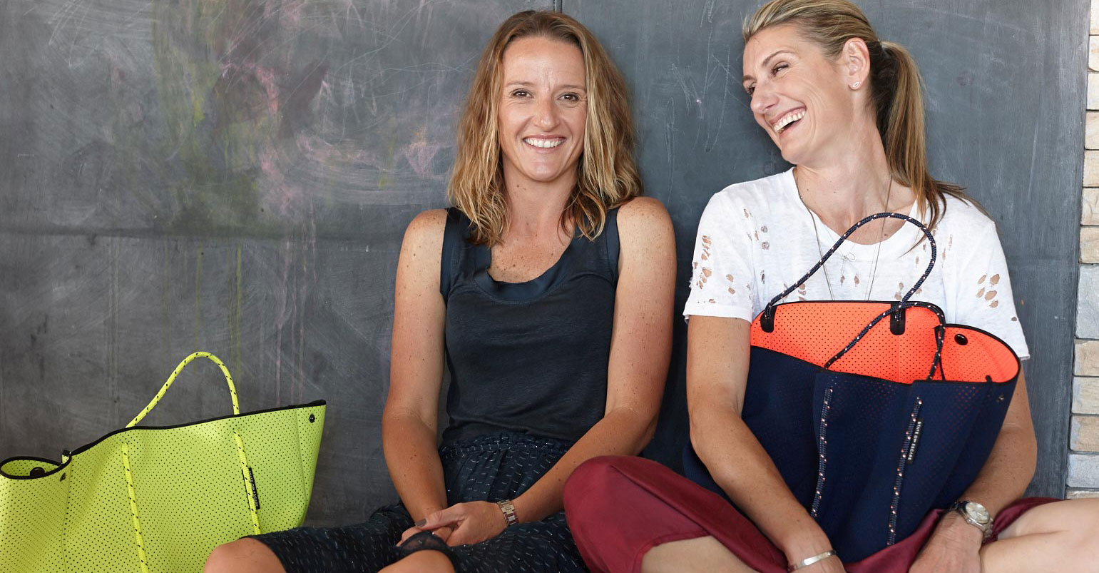 State Of Escape: The Women Behind The Perfect Neoprene Carryall