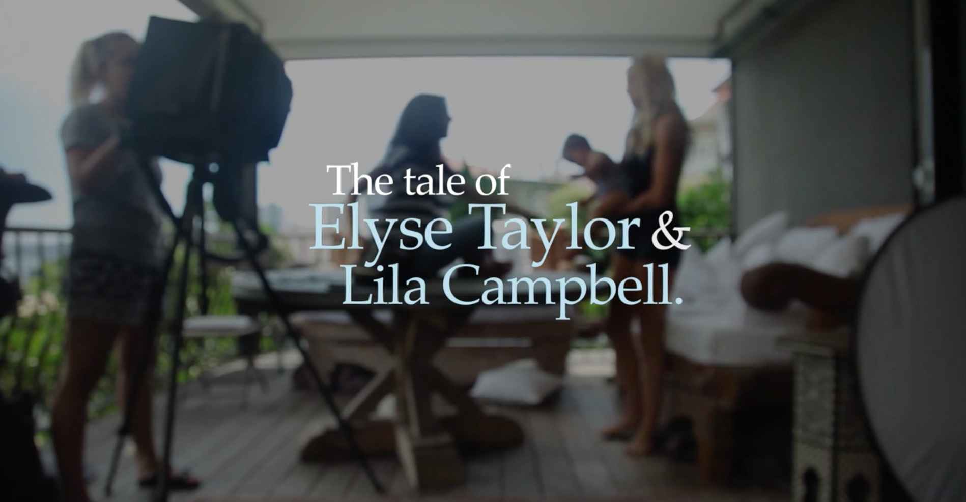 Model Mama: Elyse Taylor and her daughter Lila Campbell