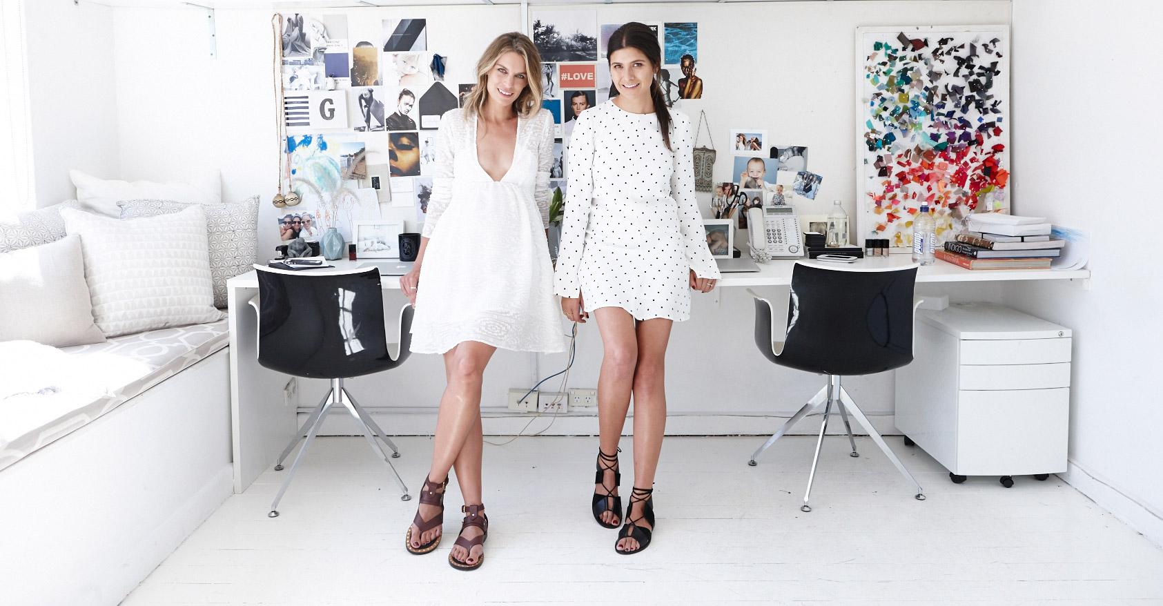 At My Desk: Becky Cooper & Bridget Yorston