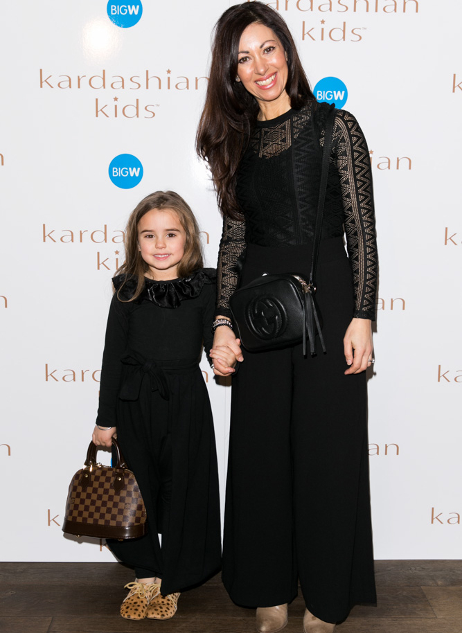 KardashianKidsSydneyLaunch-290715-Socials-33--Sandy-Zaljevic-and-Bella