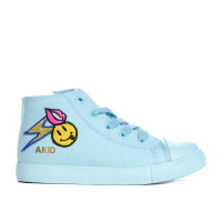 Equal parts fun, quirky and just plain rad, our limited-edition sneakers are stand-outs (ahem, if we don't say so ourselves…) and will not be around long, so what are you waiting for??? Snap up these bright, emoji-laden, patched up gems quickly!