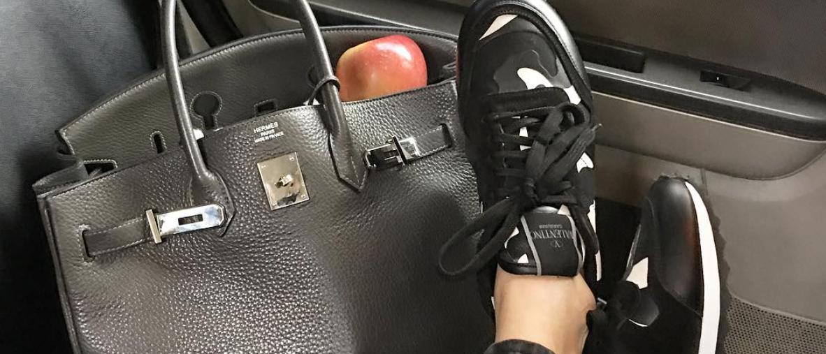 Eva Chen's sneaker style