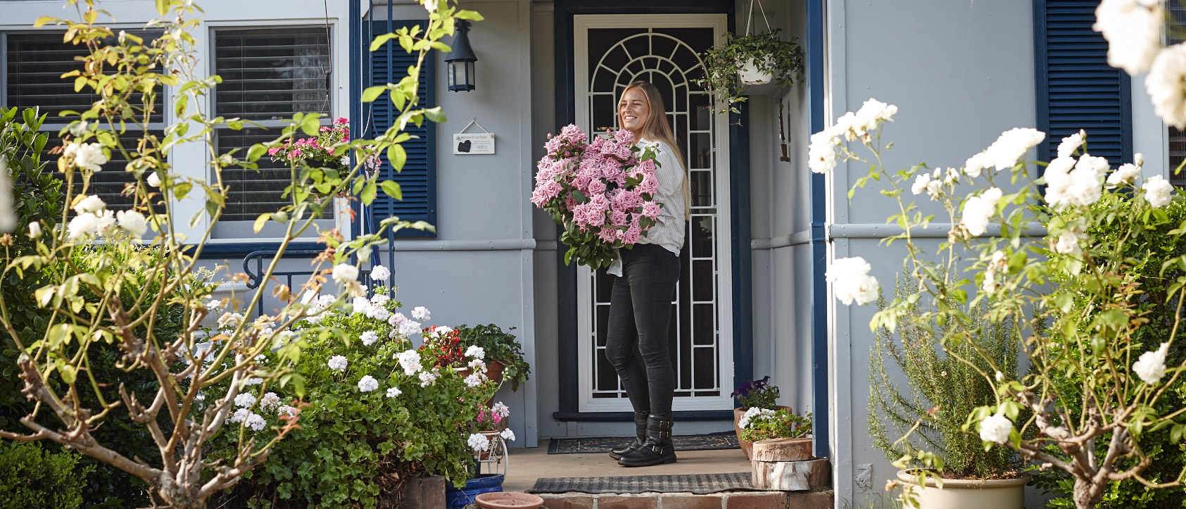 Flower-arranging and beauty secrets from one of Sydney's most stylish florists