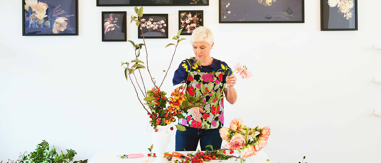 Floral Touch: Texan Floreographer Ashley Woodson Bailey