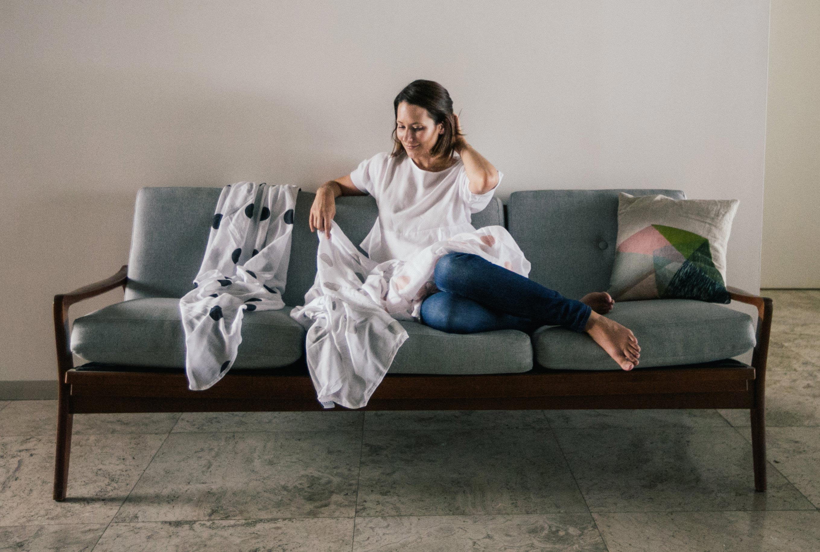 Sustainable and stylish: Meet the woman behind our new favourite swaddles