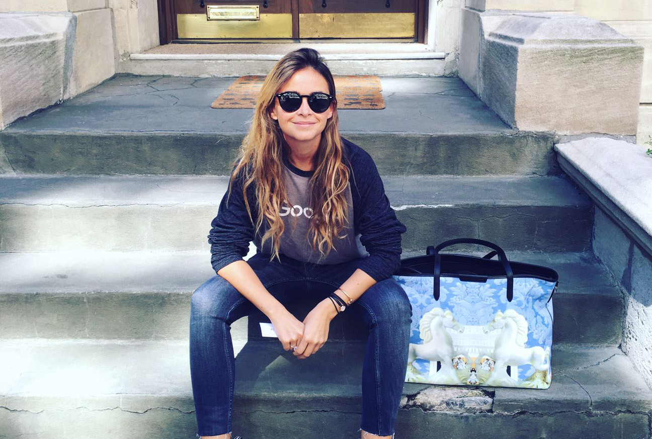 Mary Katrantzou collaborates with The Tot on a nappy bag
