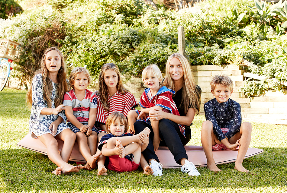 Collette Dinnigan on moving to Rome, her parenting style & her new childrenswear range