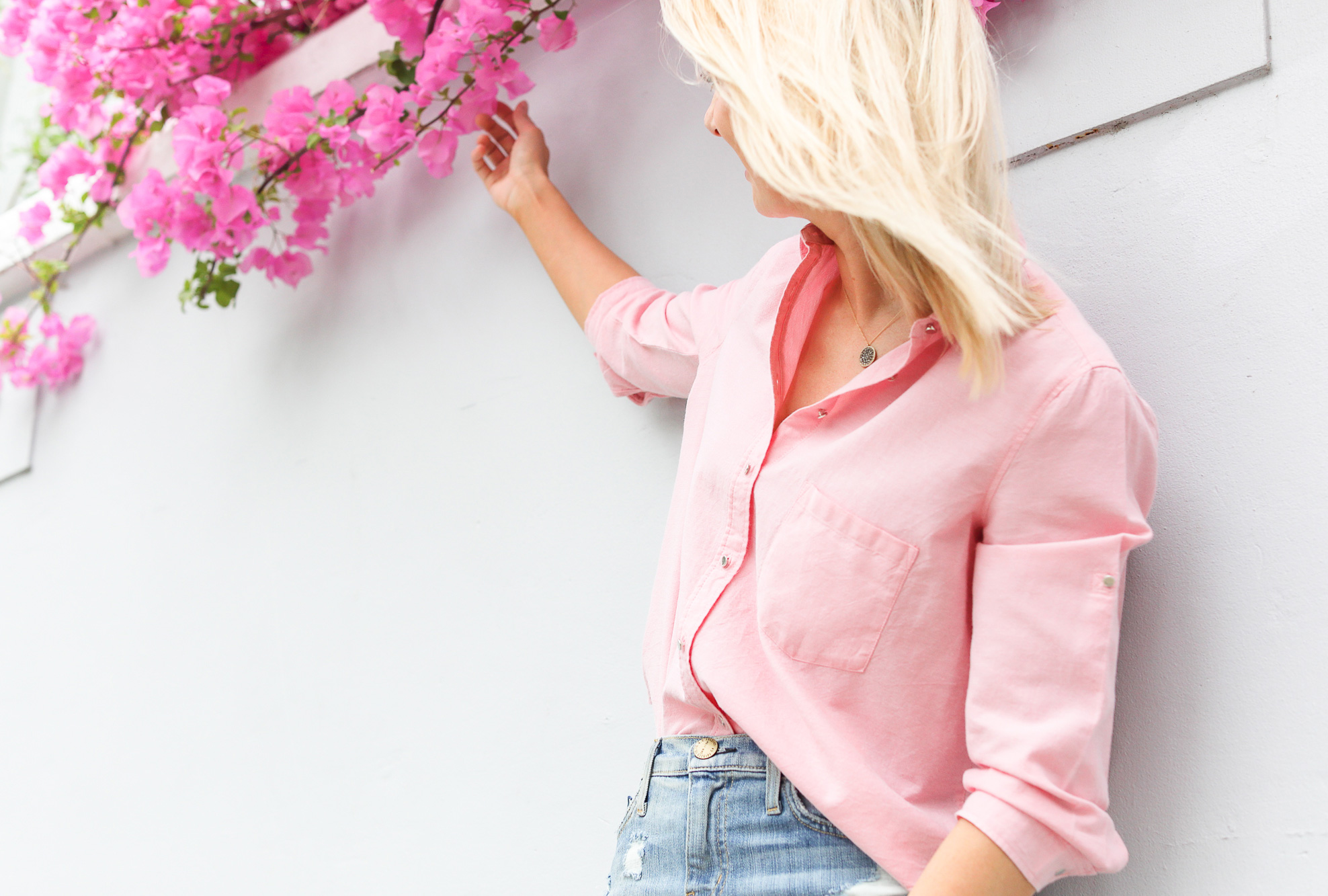 Why Spring is the time to think pink (and throw in a splash of denim)…