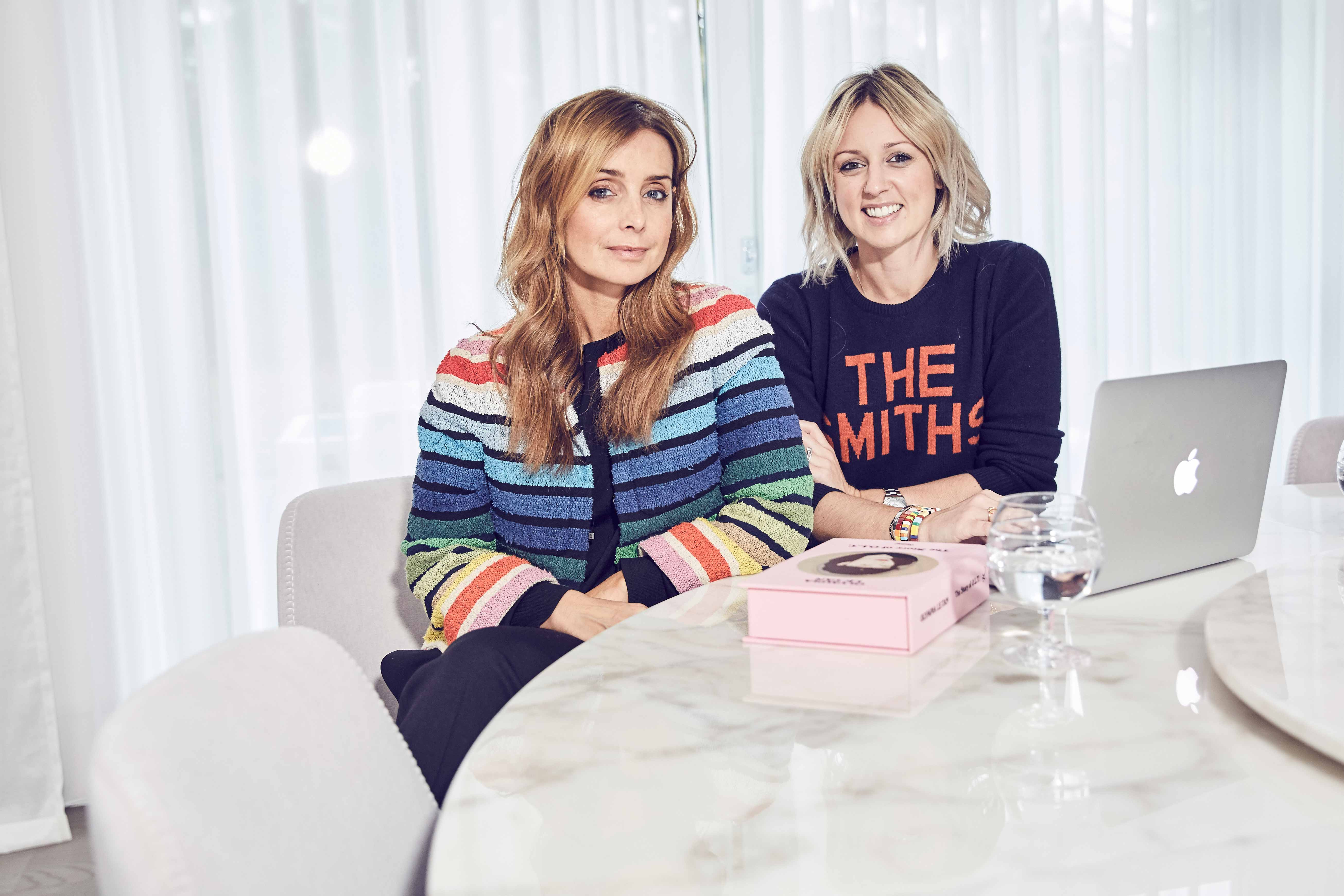 Louise Redknapp and Emma Thatcher from A Style Album on Strictly Come Dancing and all things style
