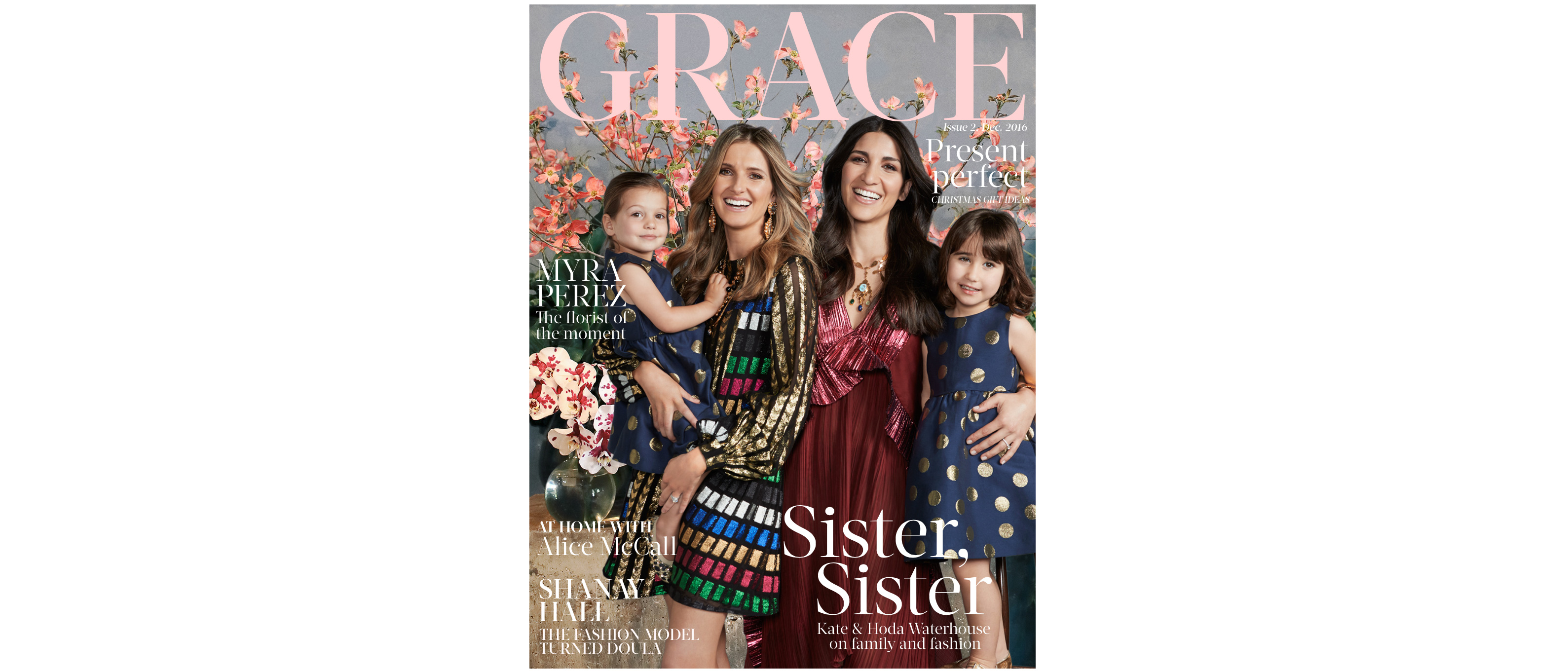 Welcome to the December issue of GRACE
