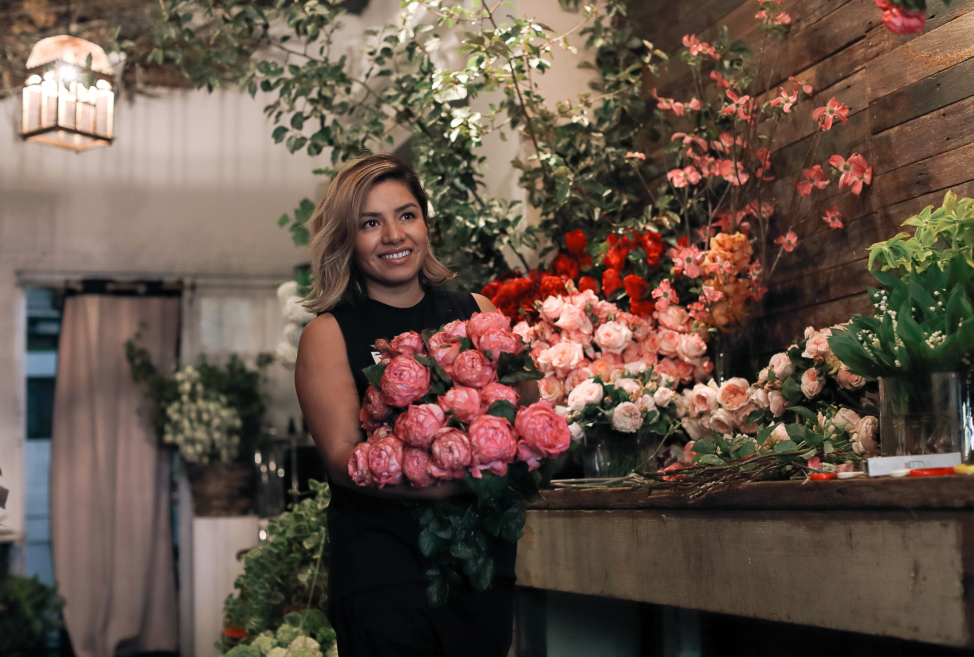 GRACE magazine: inside the Sydney studio of florist Myra Perez