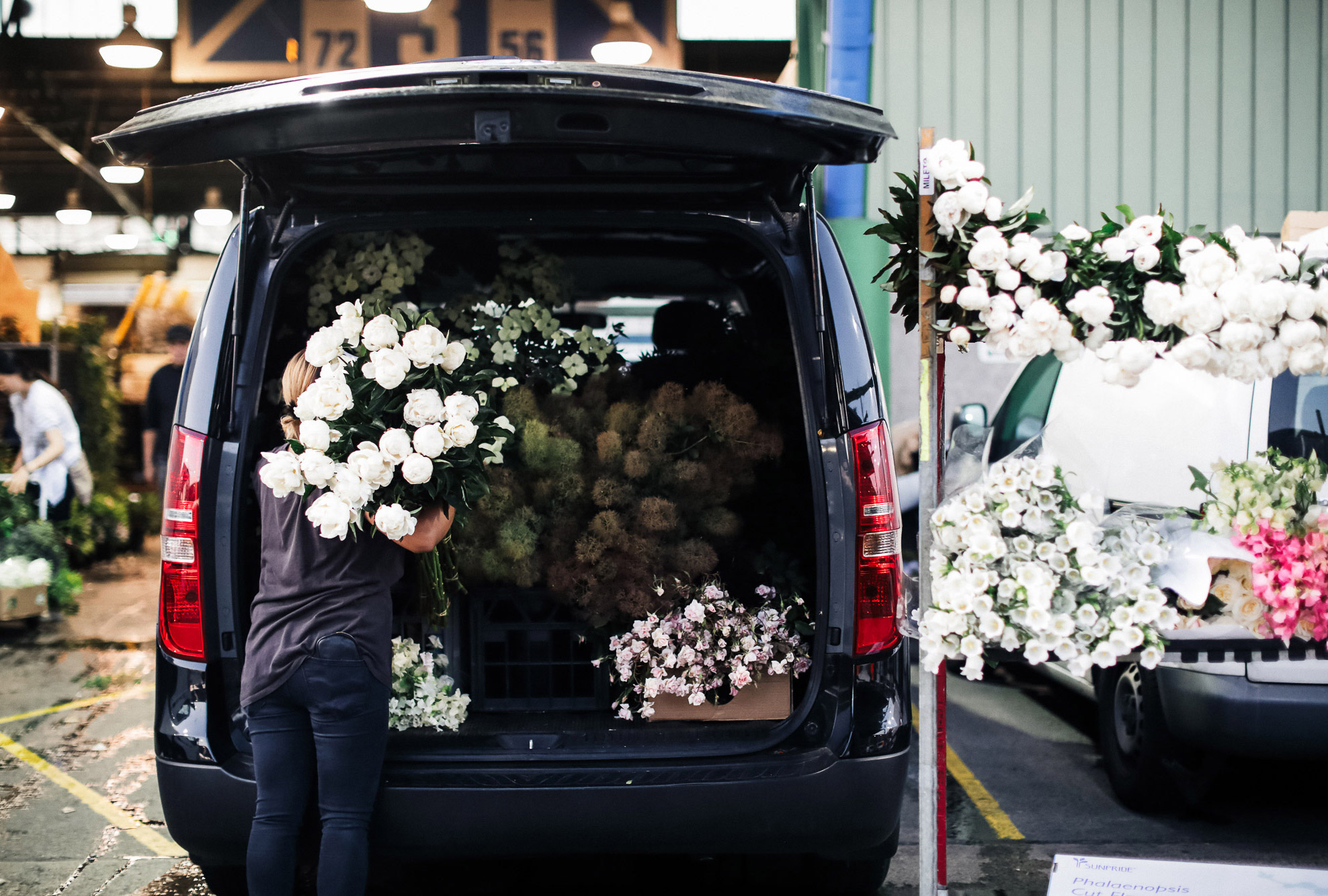 A day in the life of florist Myra Perez