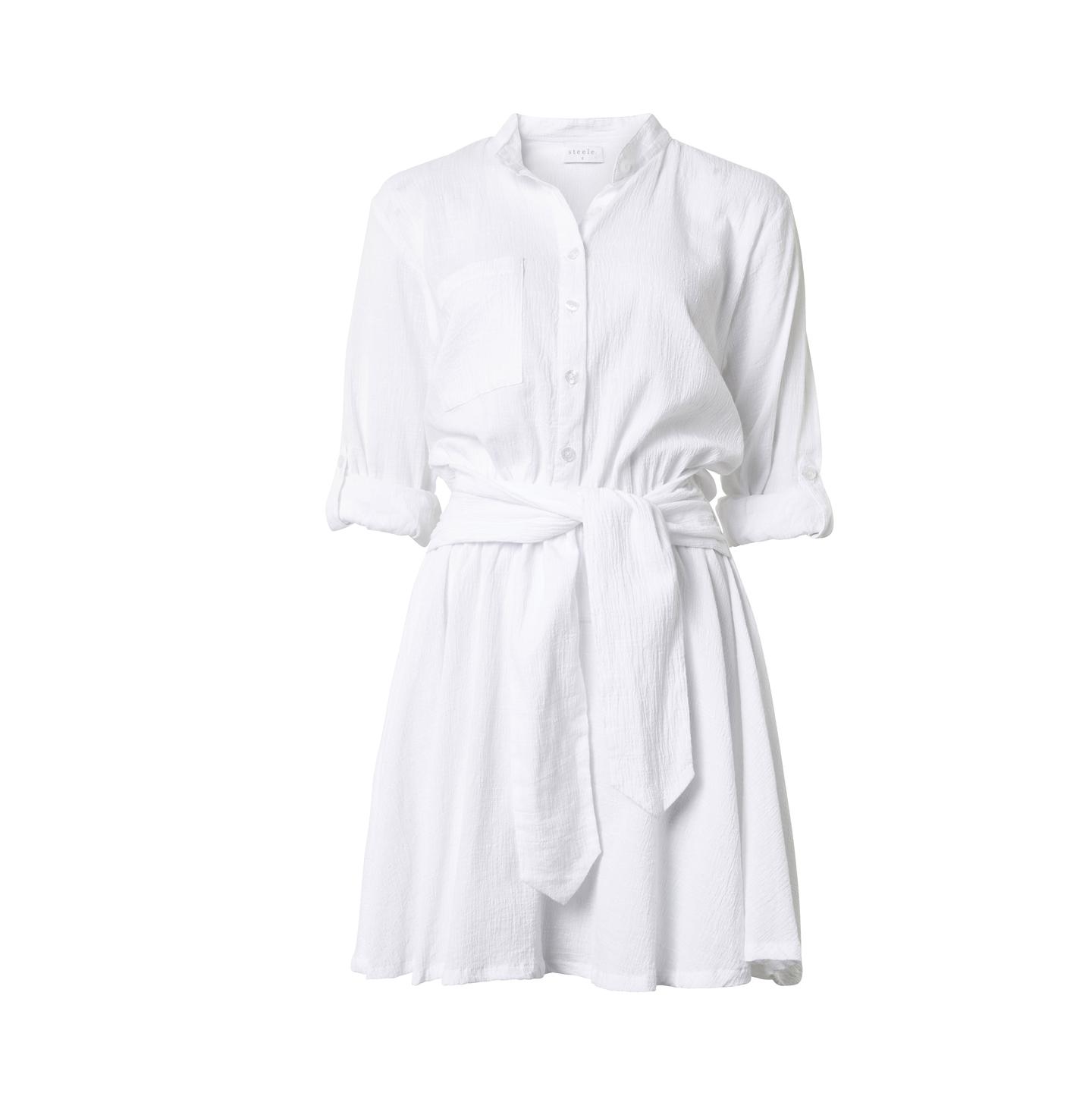 STEELE ANDREA WHITE DRESS