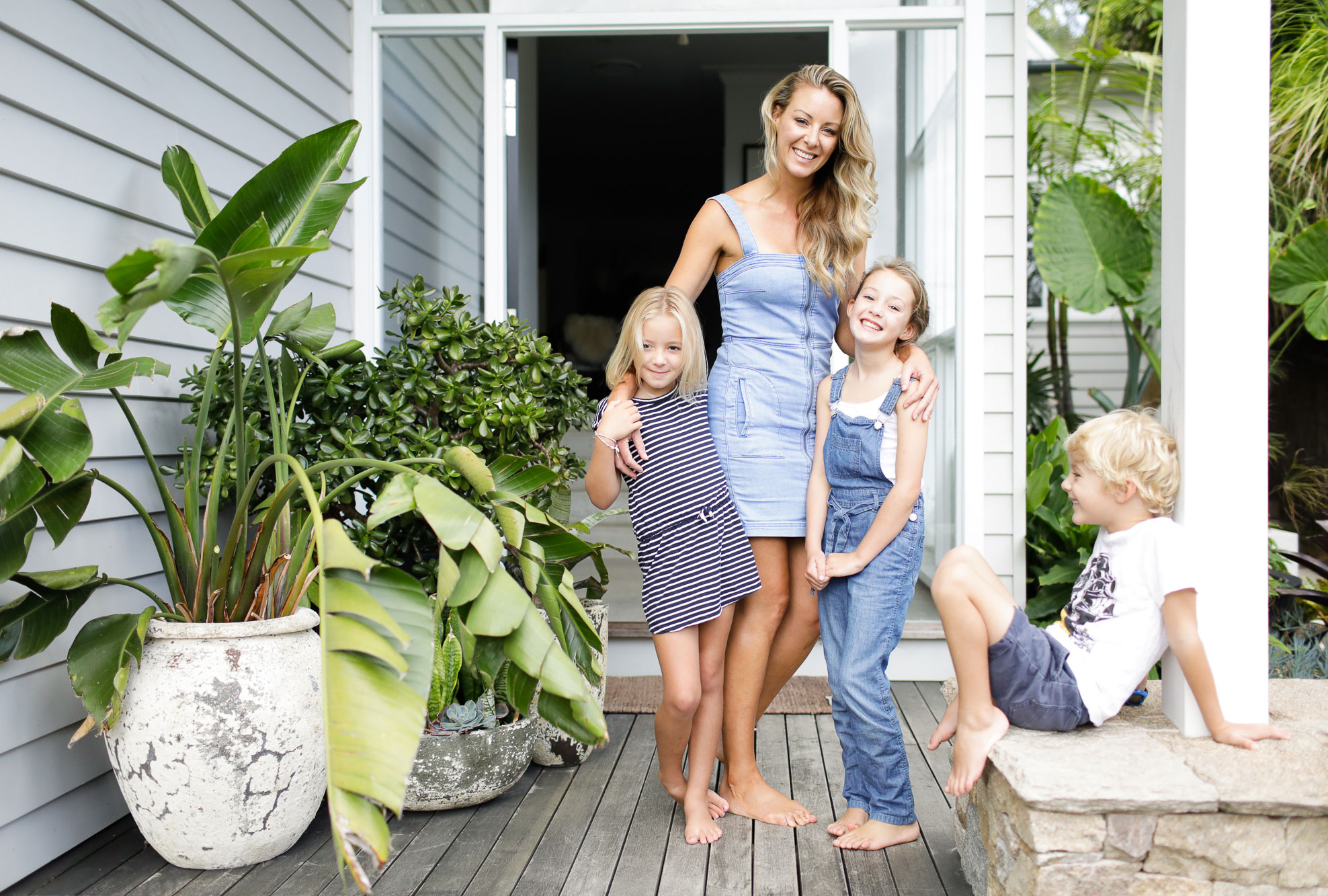 My island home: Alanna Smit on juggling three kids with a successful interior business