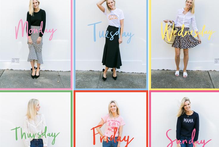 A Week In My Wardrobe: Editor Georgie Abay