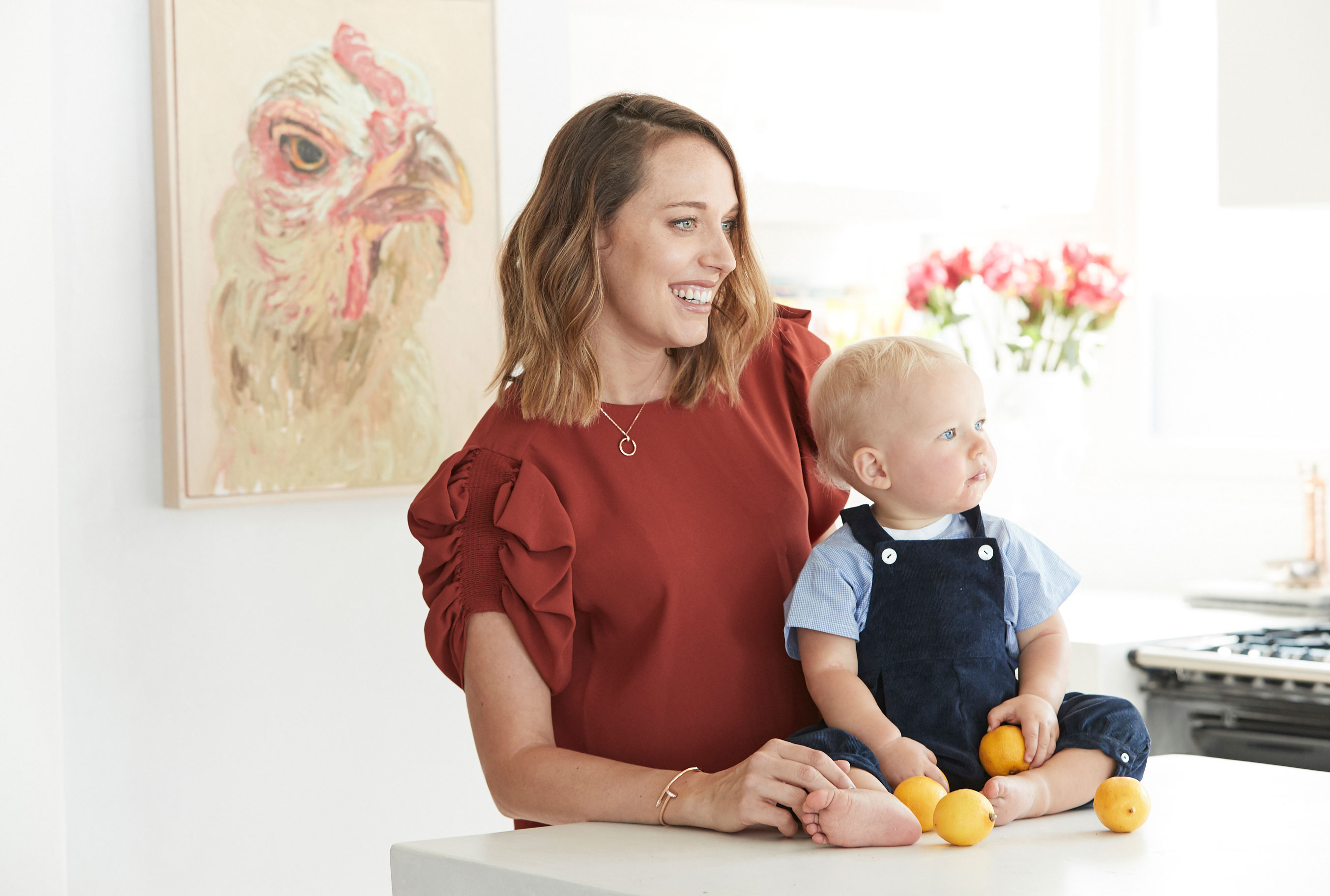 For Tamsin Johnson, Interiors and Motherhood are all About The Simple Life