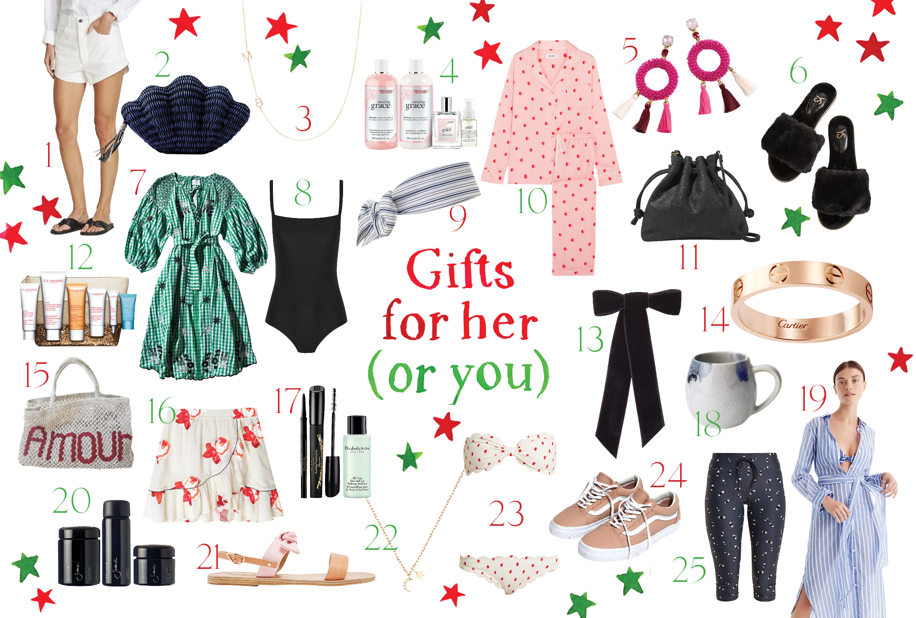 The GRACE Christmas Gift Guide For Women (Think Of This As Your Hint Hint, Nudge Nudge List)