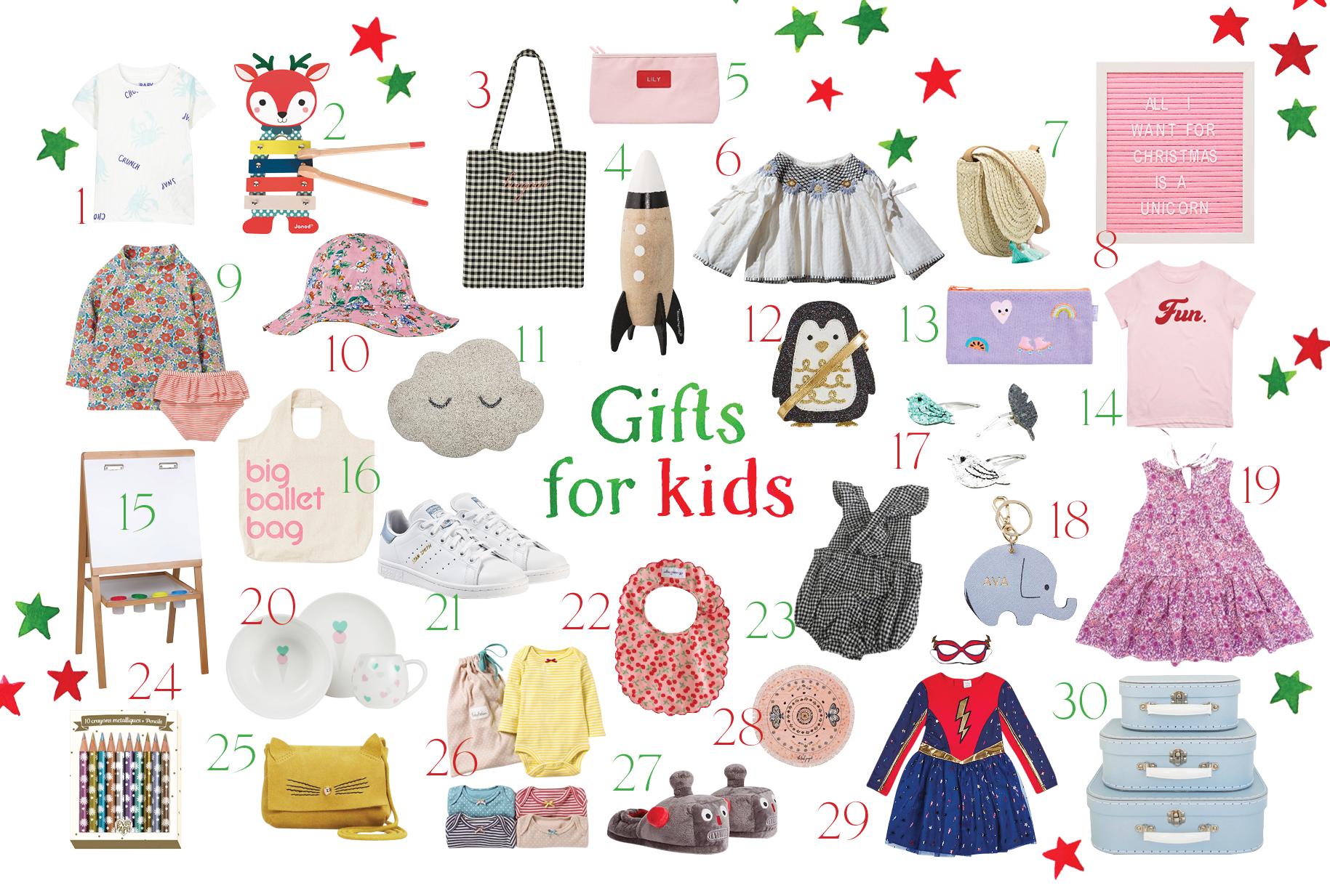 The GRACE Christmas Gift Guide For Kids (Alert: Cute Factor High)