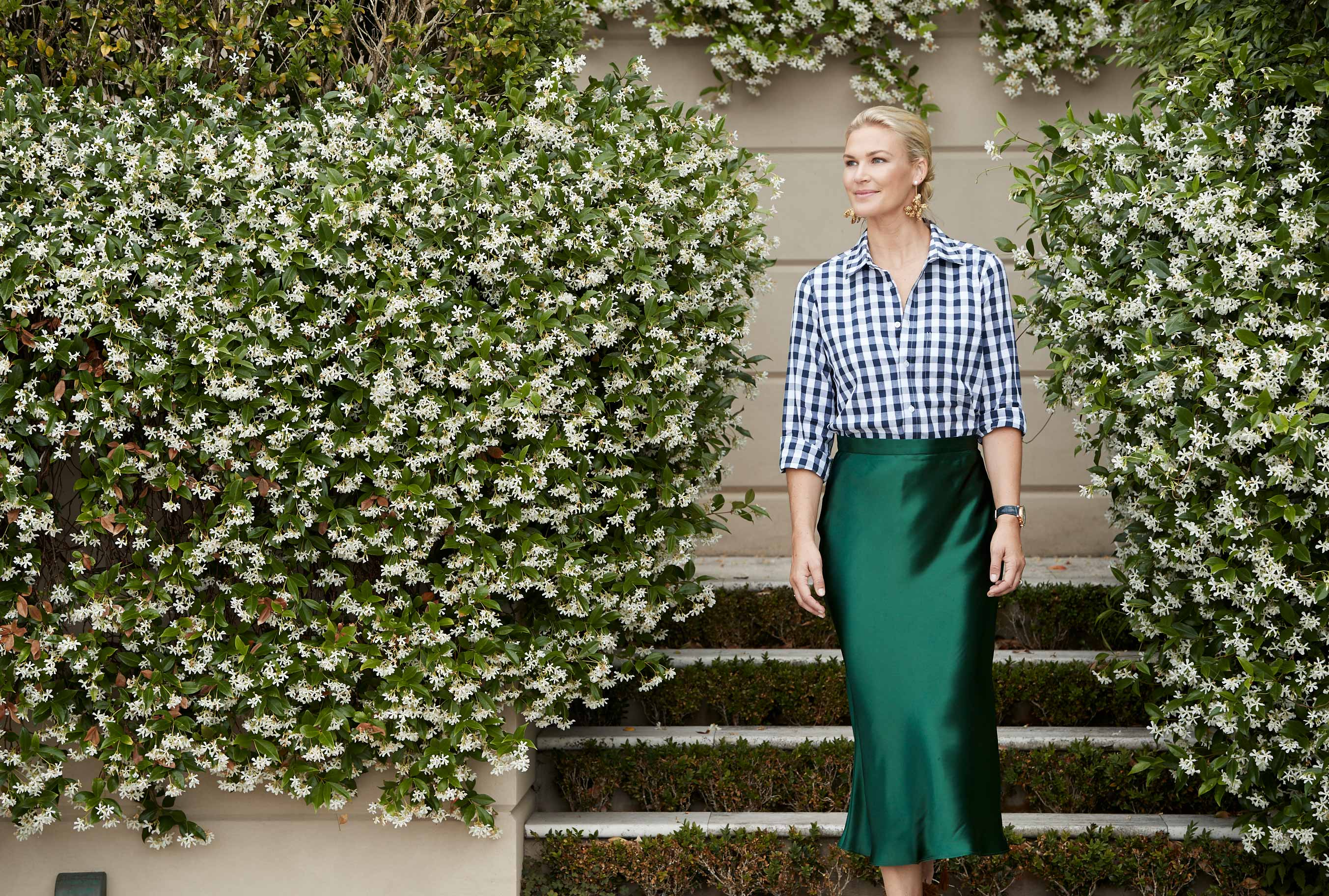 3 Ways To Style A Gingham Shirt With Interior Designer Melissa Marshall
