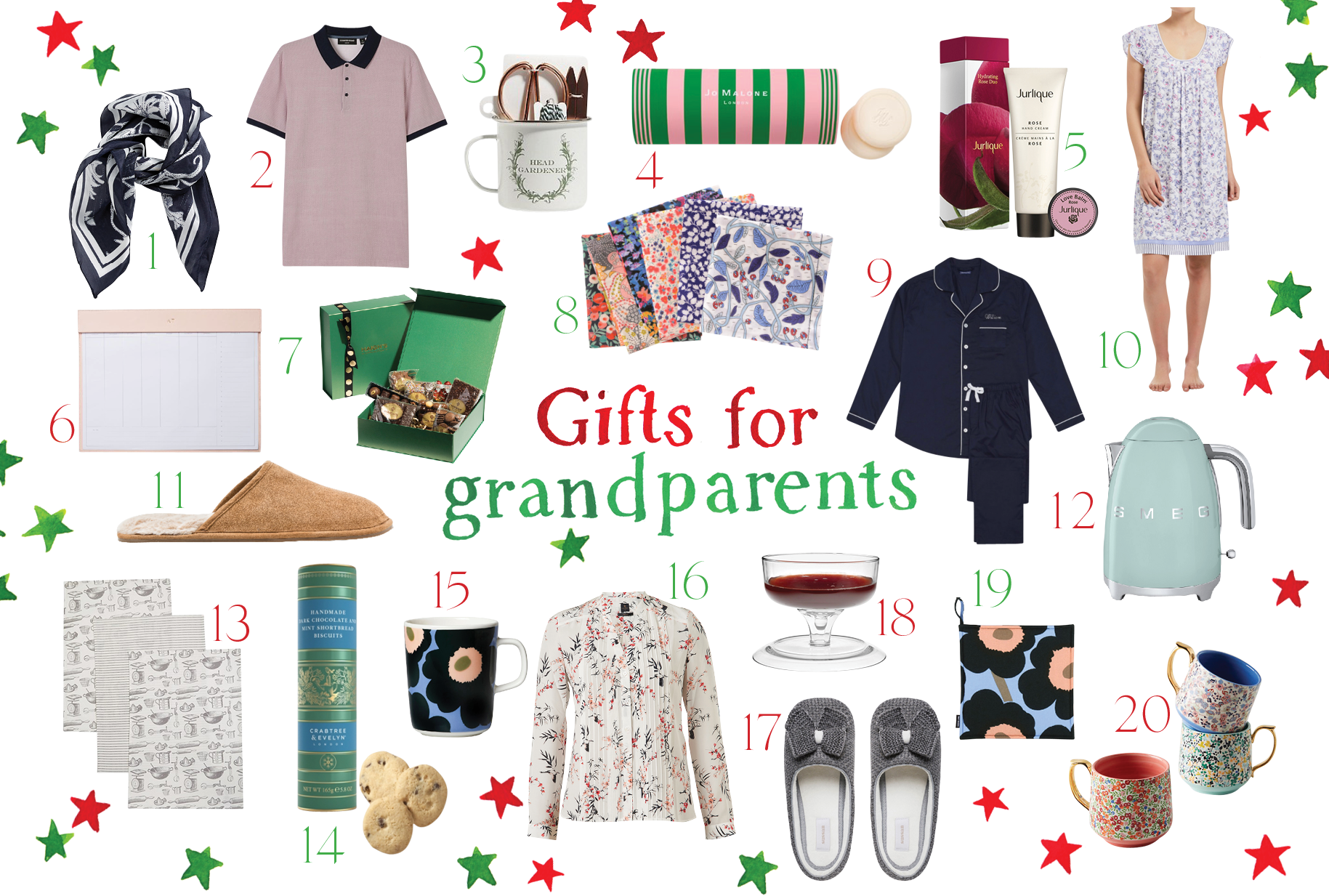 The GRACE Christmas Gift Guide: For The Much-Loved Grandparents