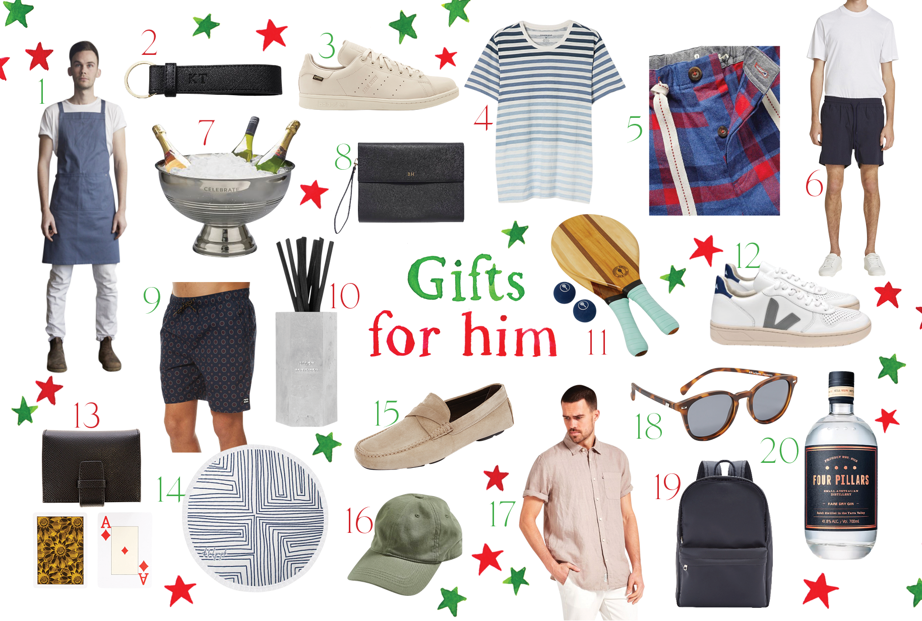The GRACE Christmas Gift Guide: For The Man In Your Life
