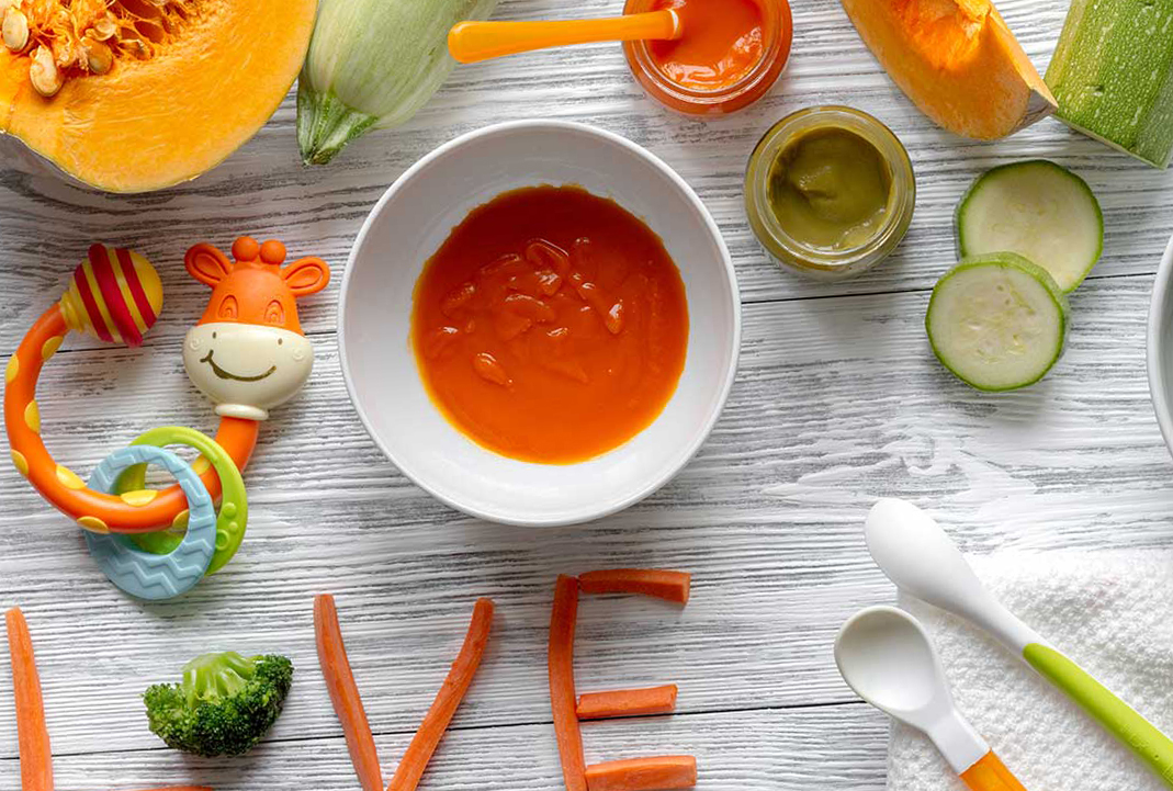 Quick & Easy Organic Food Options To Feed Your Baby From Six Months