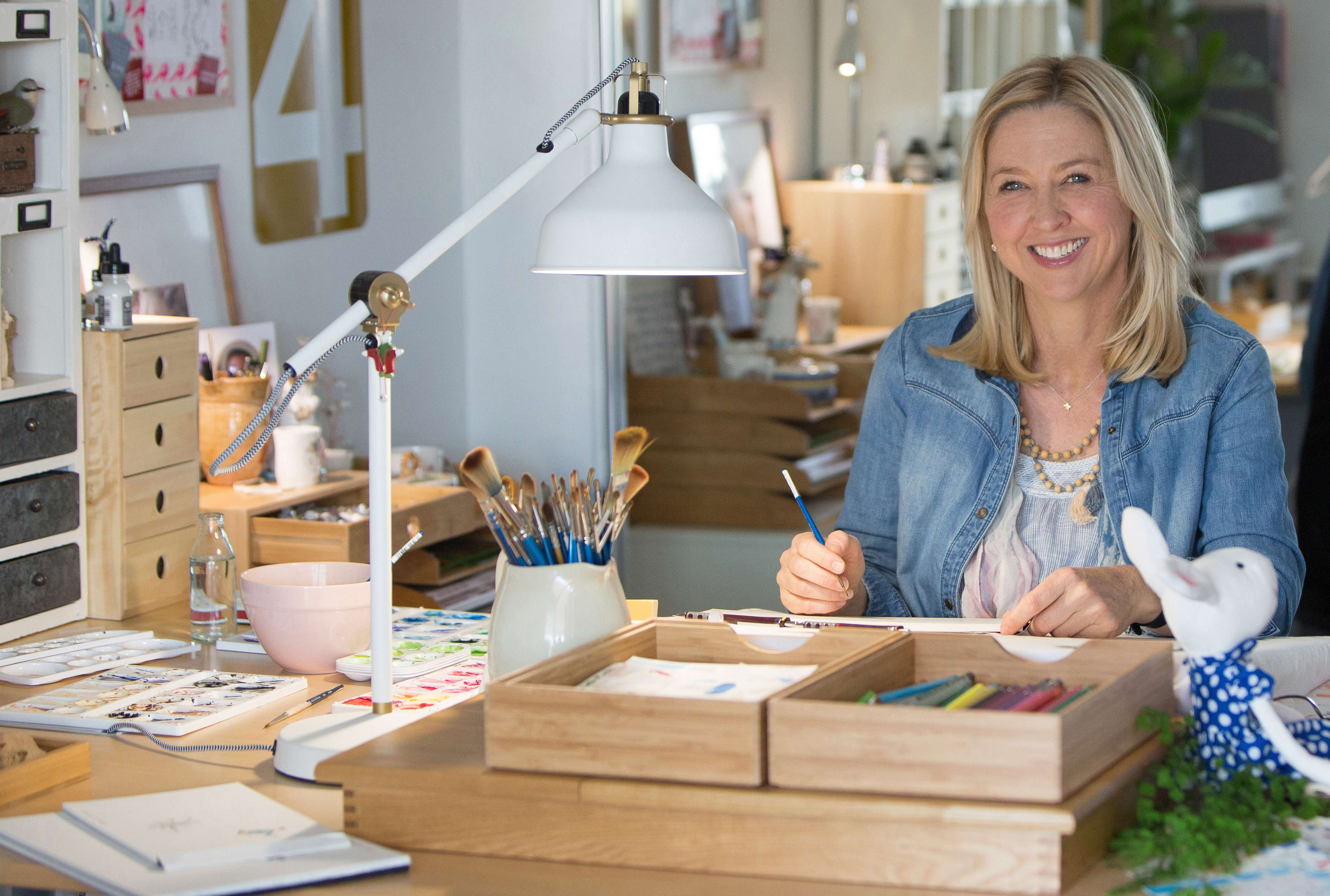 Artist and Author Kate Knapp Is As Inspiring and Endearing As Her Character, Ruby Red Shoes