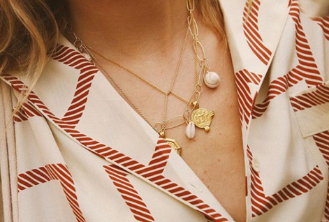 The Prettiest Necklaces To Layer Or Wear On Their Own