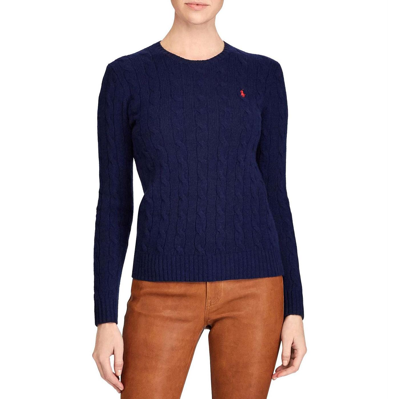 Ralph Lauren Julianna Classic Long Sleeve Sweater