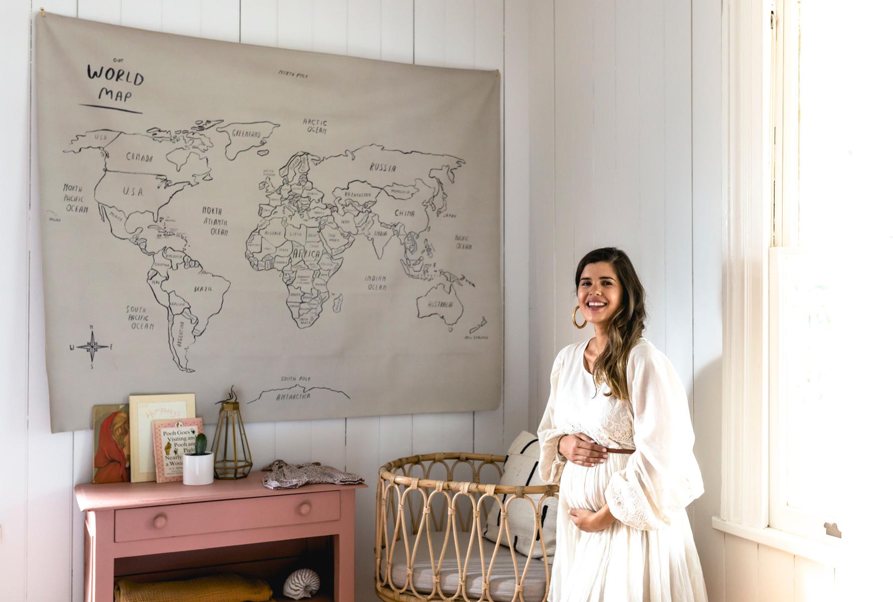Geneva Vanderzeil Welcomes Her Best DIY Project To Date – Baby Frankie!