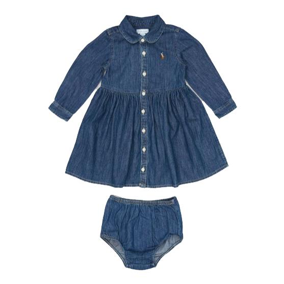 Polo Ralph Lauren Denim Shirt Dress – Babies