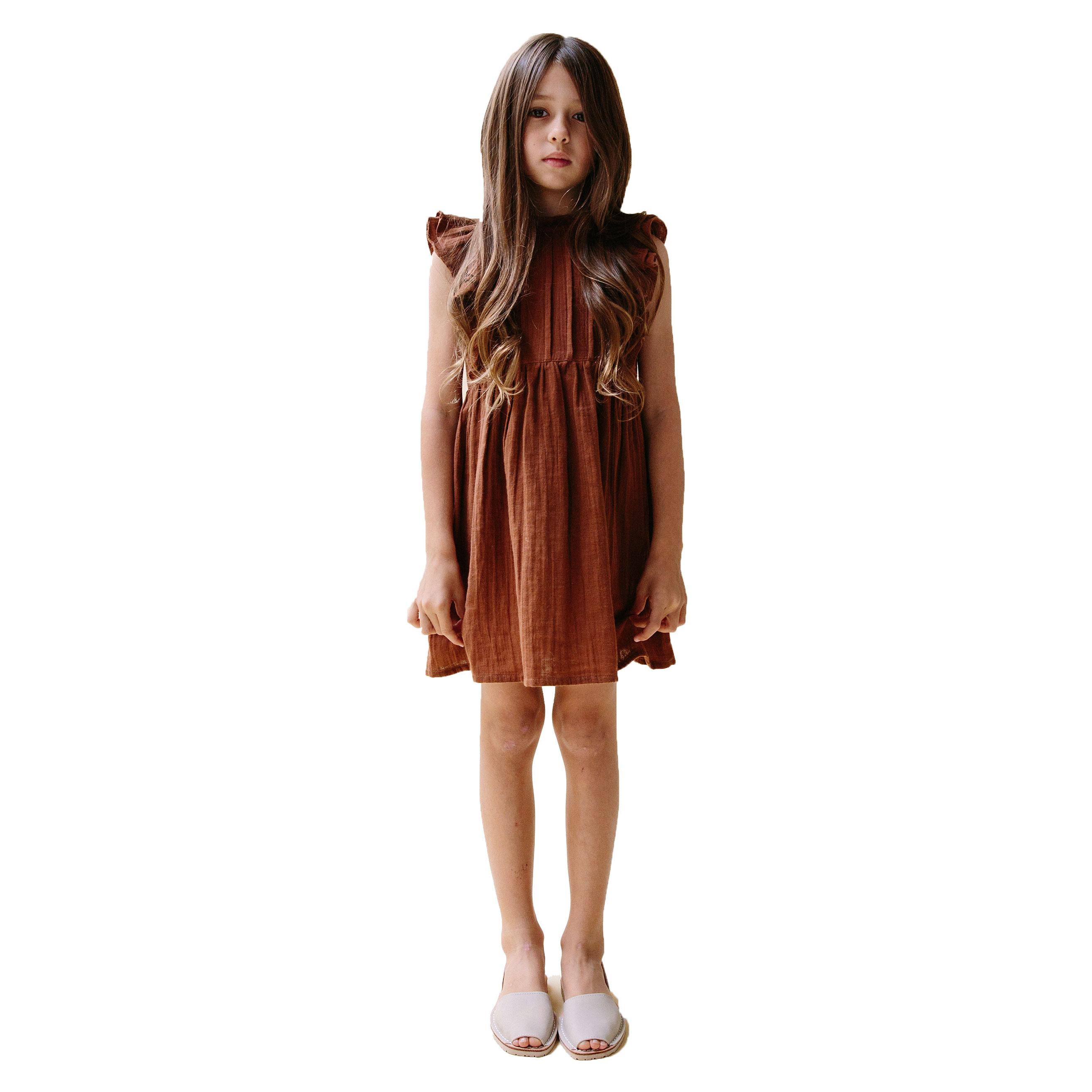 Daughter Briar Dress Rust