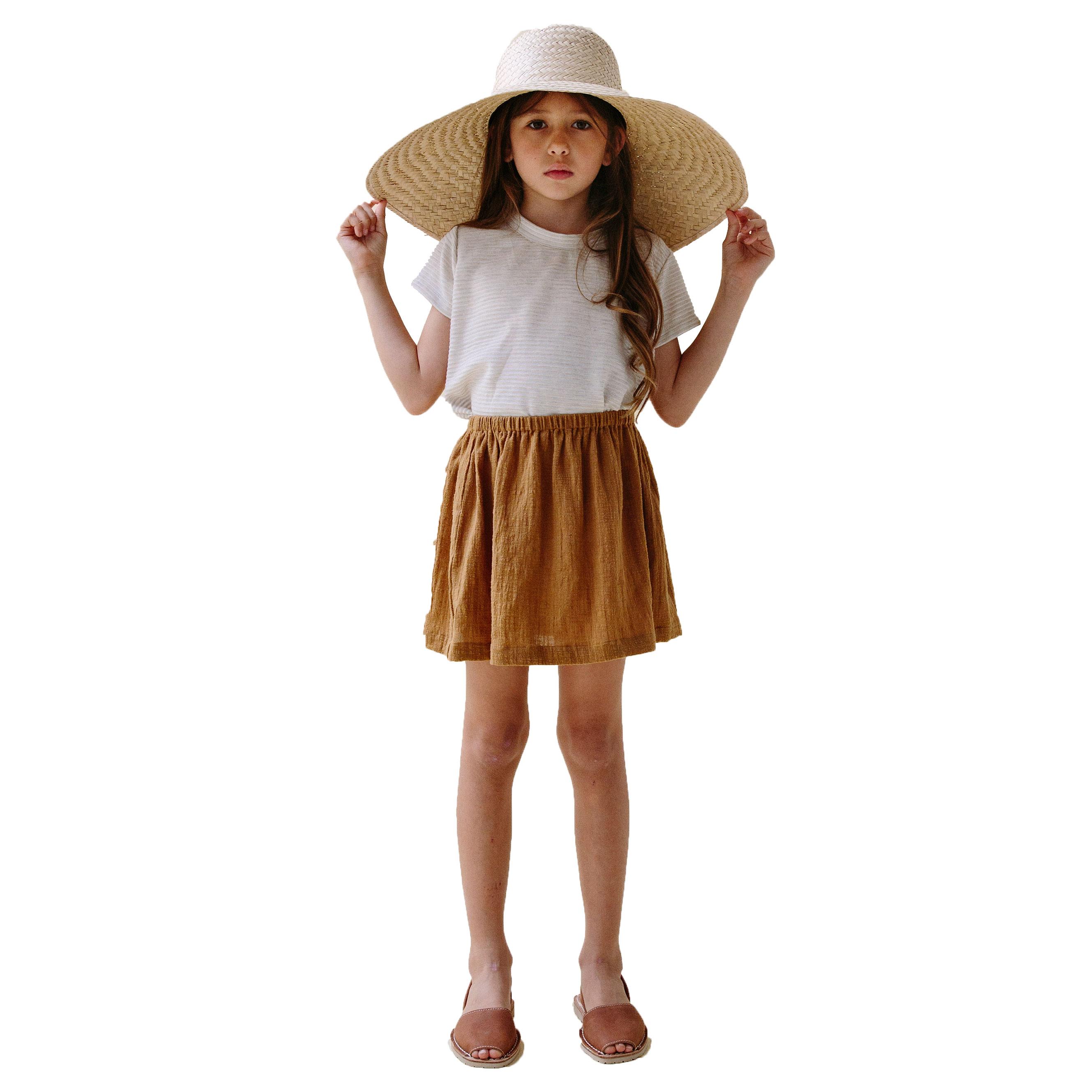 Daughter Fleur Skirt Ochre