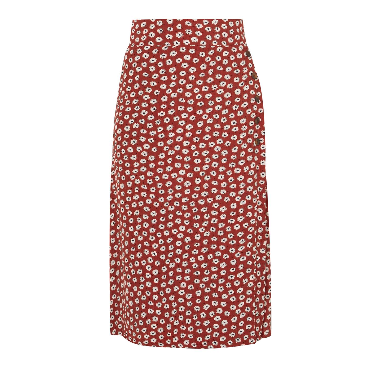 Faithfull The Brand Joy Floral Skirt