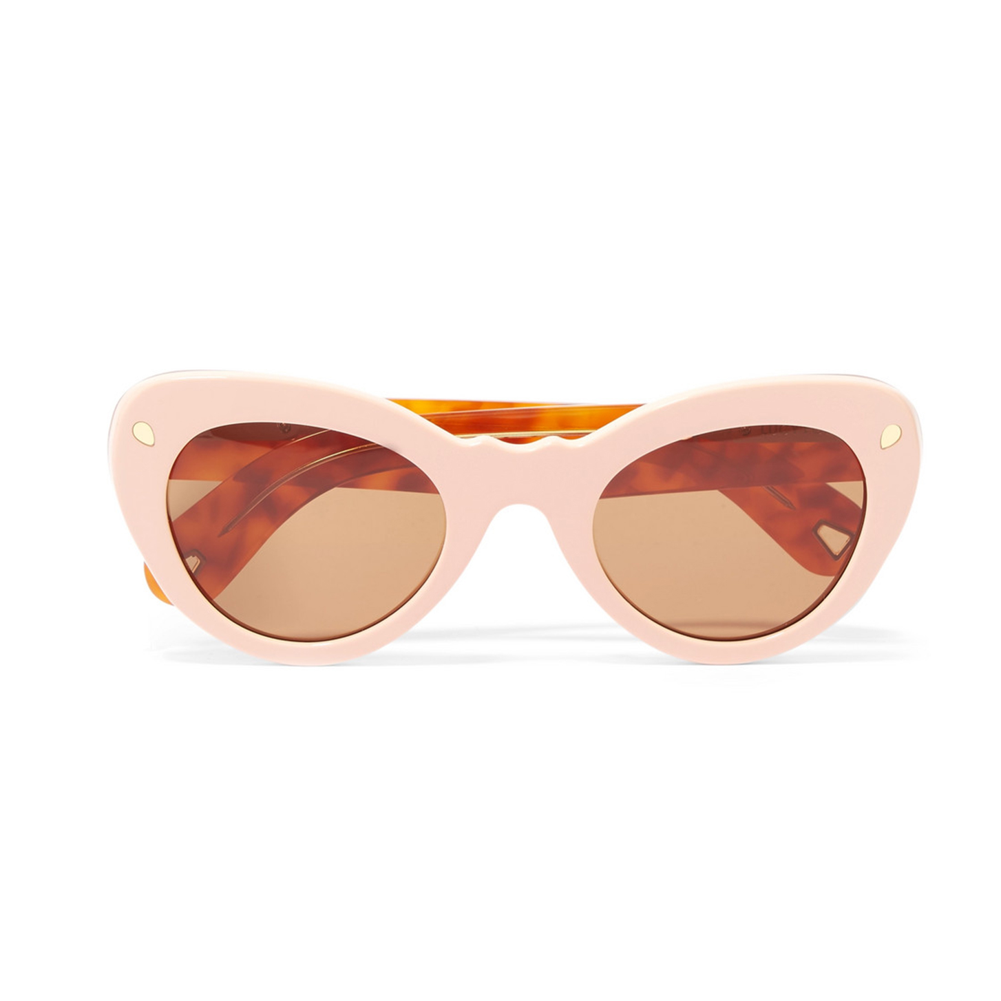 Lucy Folk Wingspan Cat-eye Acetate Sunglasses