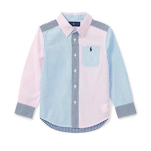 Polo Ralph Lauren Cotton Seersucker Fun Shirt