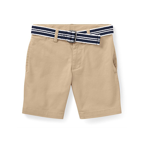 Polo Ralph Lauren Slim Fit Belted Stretch Short