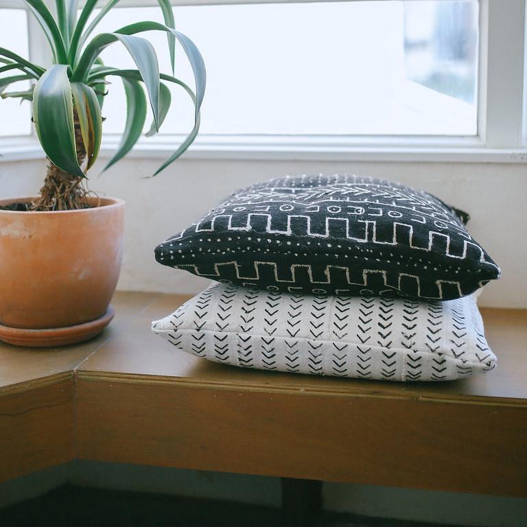 A Pair & A Spare DIY Throw Cushions