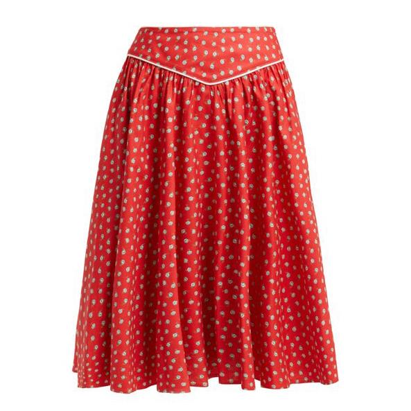 Batsheva Floral Skirt
