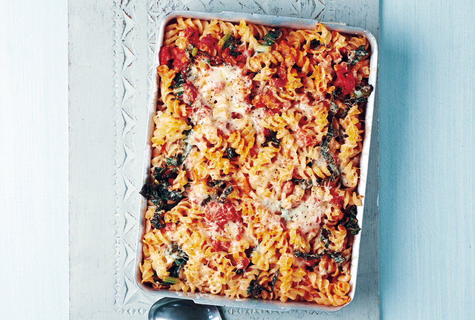 What To Feed The Kids? Try This Tuscan Pasta Bake With Cavolo Nero
