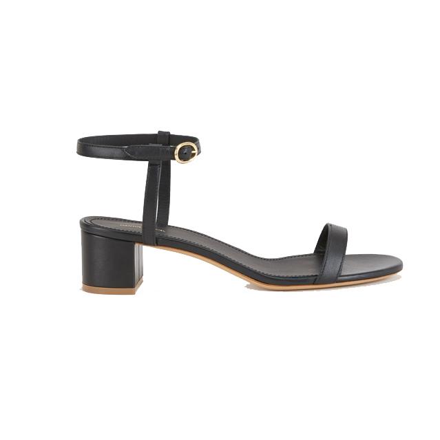 Mansur Gavriel Ankle Strap Leather Sandal