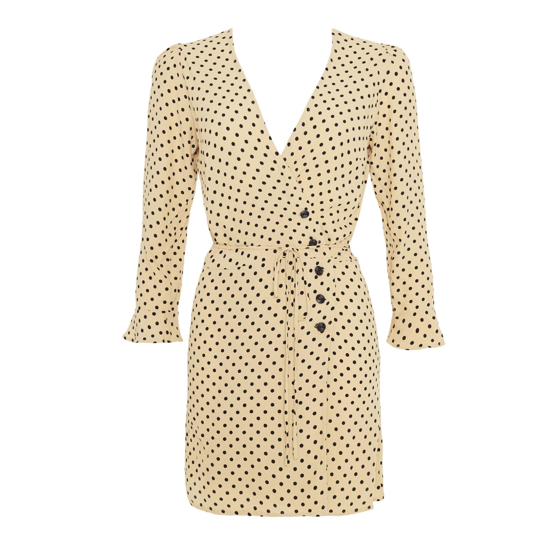 Faithfull The Brand Lula Dot Print Greta Dress