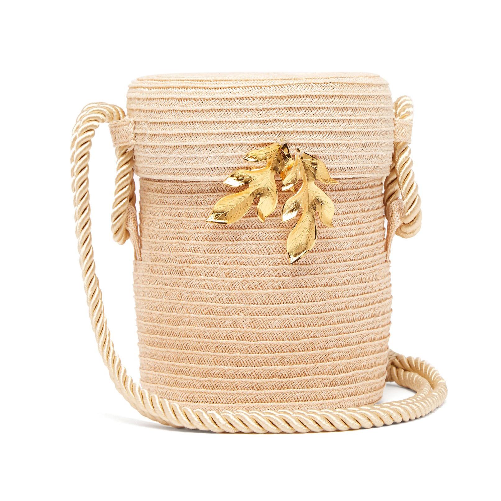 Rebecca De Ravenel Farida Straw Bag