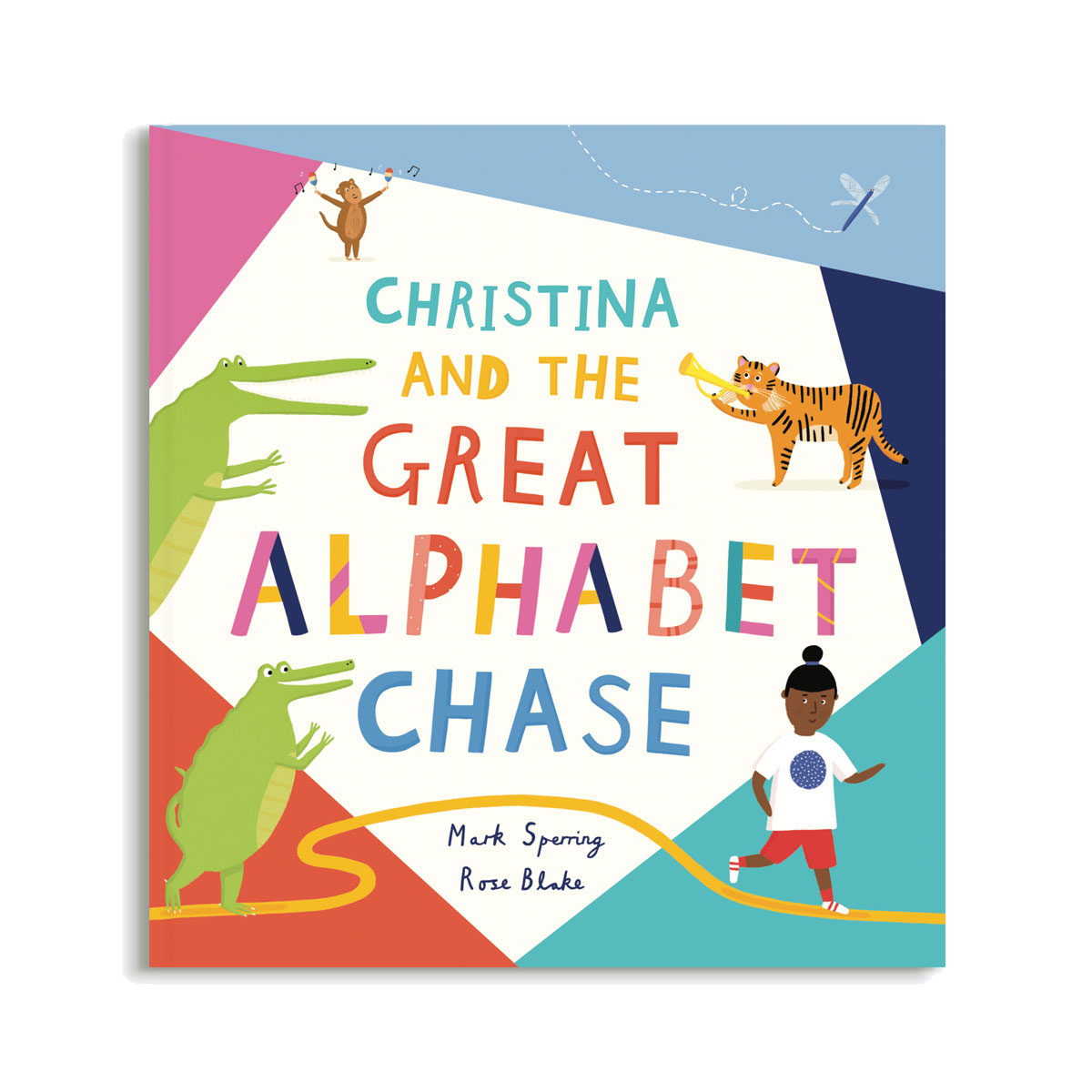 Papier The Great Alphabet Chase Personalised Children's Book