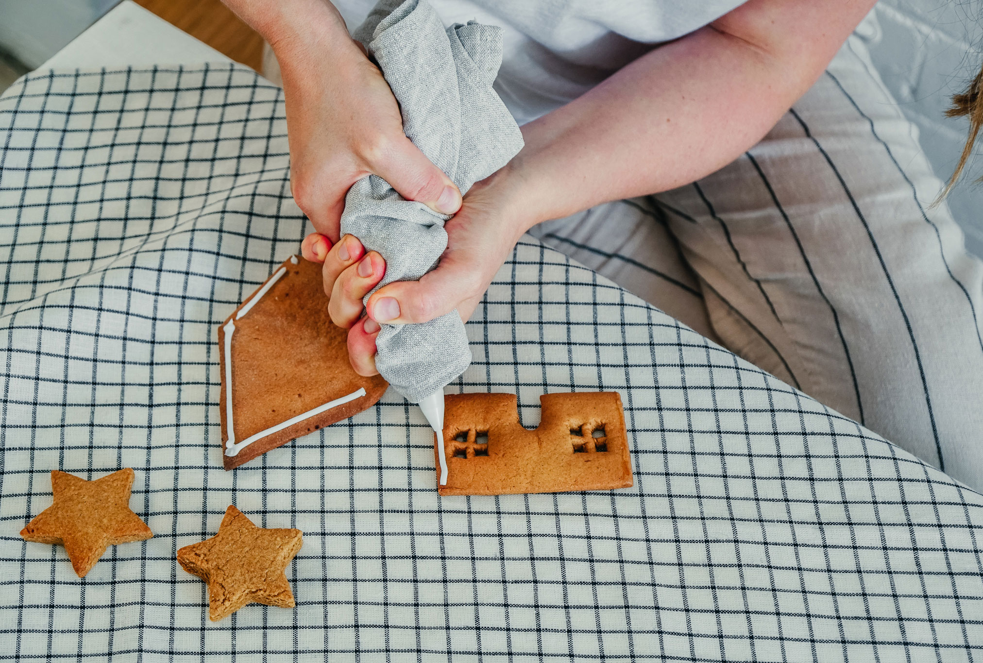 Making Memories Through Christmas Gingerbread Baking (With a Secret Healthy Twist)