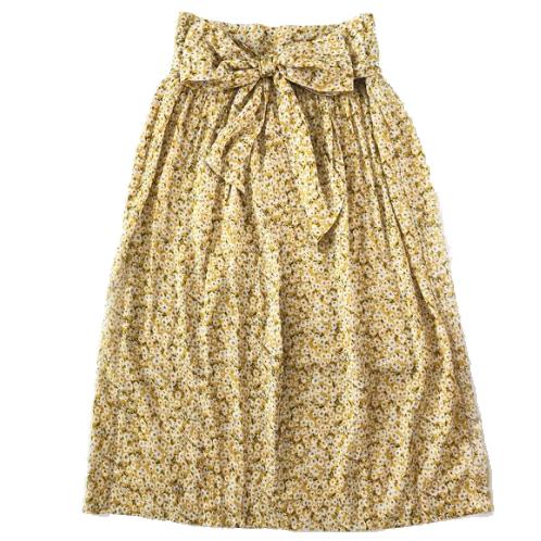 PLAY etc. Sunshine Floral Midi Skirt