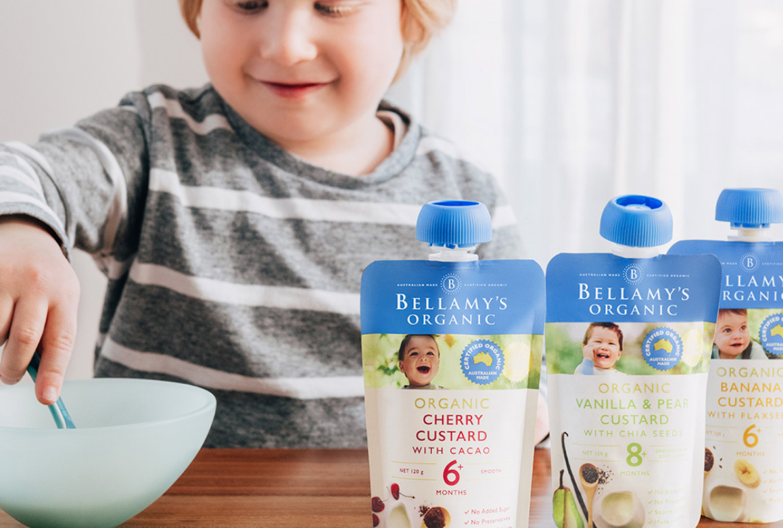 Sugar & Babies: The Healthy Way To Satisfy That Sweet Tooth (Hint: It Involves Delicious Custard)