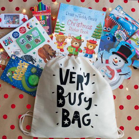 Very Busy Bag Limited Edition Christmas Bag